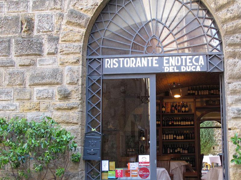 Ristorante Enoteca Del Duca a Volterra