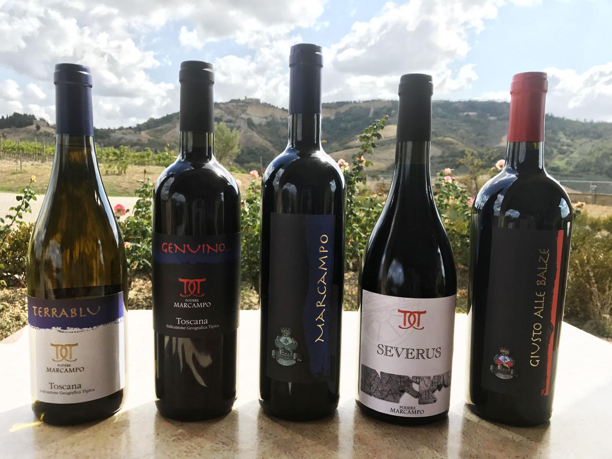 Podere Marcampo Azienda Agricola Toscana Volterra produzione di vini