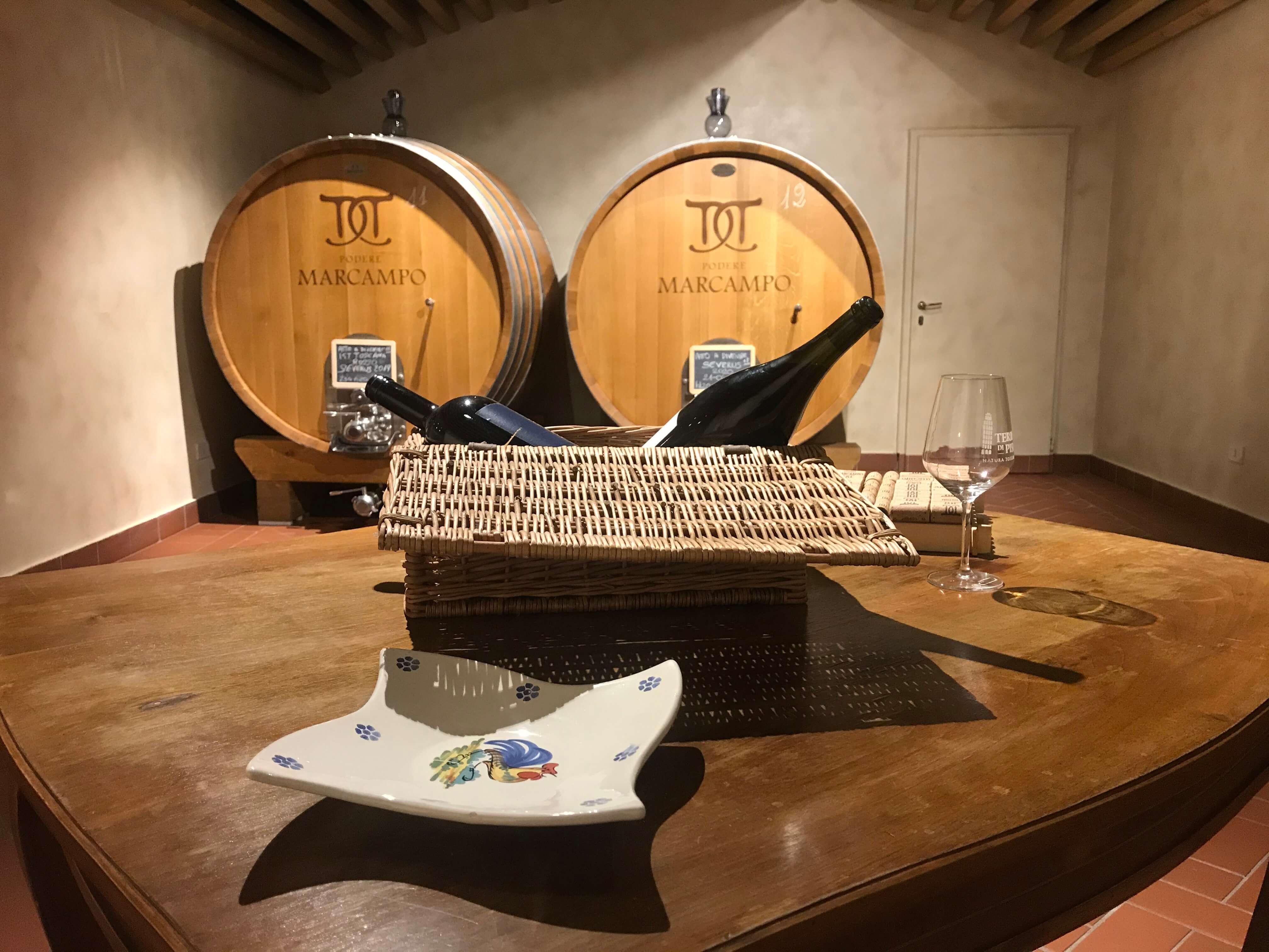 Podere Marcampo Agriturismo Toscana Volterra - Wine Tasting